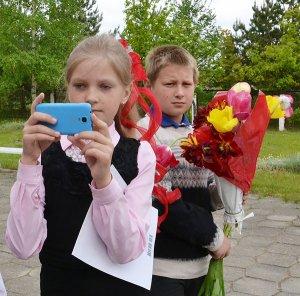 Линейка последнего звонка в Чепуковской СШ