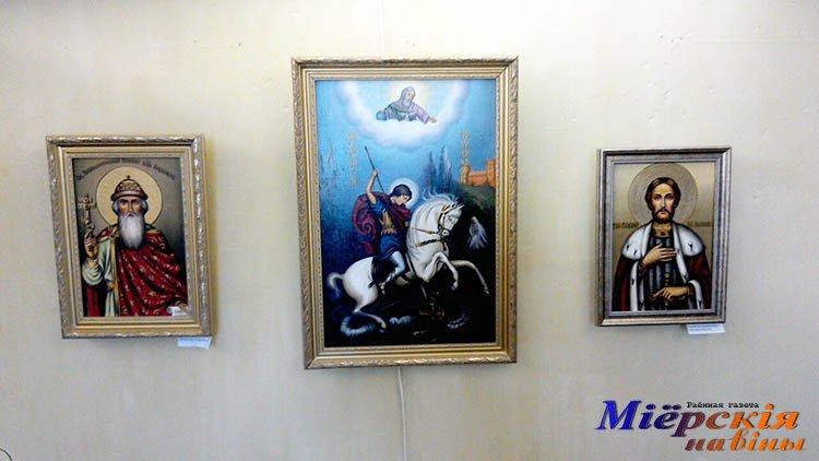 У Міёрскім музеі дзейнічае выстава ікон