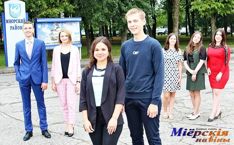 Маладыя спецыялісты-педагогі прыбылі на Міёршчыну